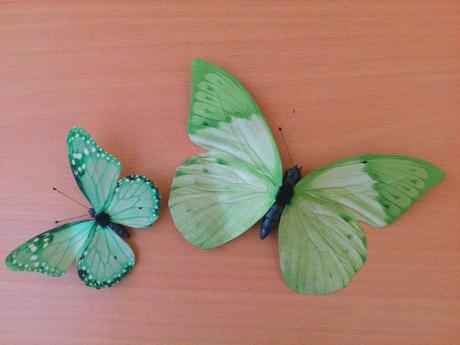 Dekorace - motýlci,