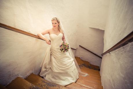 princeznovské korzetové svatební šaty, 42