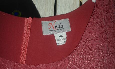 Spoločenské šaty+kabátik, 46
