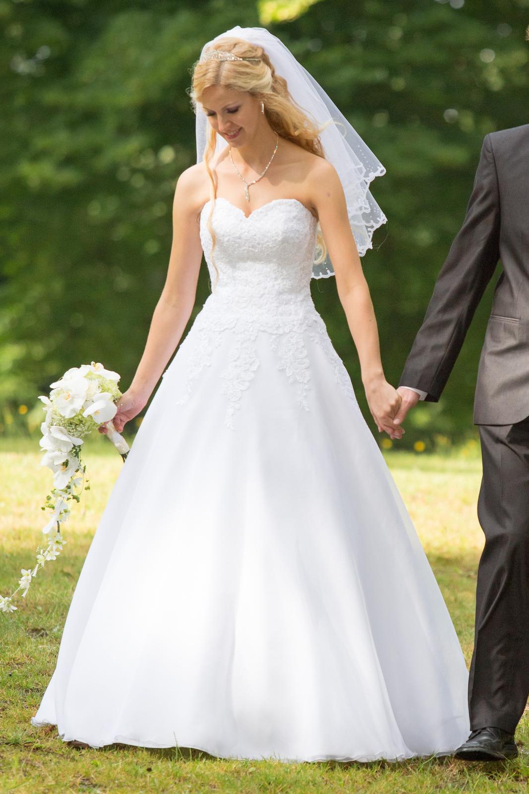 Korzetove Saty Agnes Bridal Dream M L 175cm 38 9 000 Kc