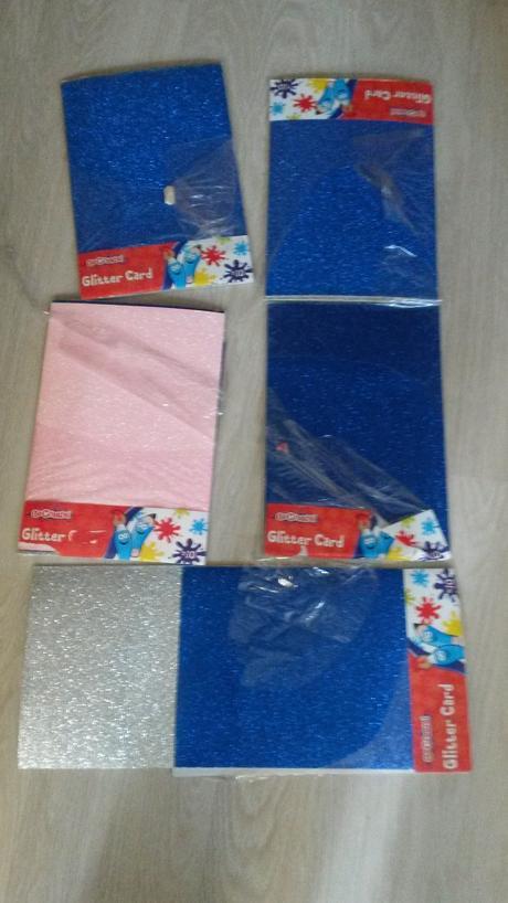"""Trblietavy papier """"Glitter Card"""","""