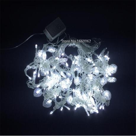 Srdiečko LED biele 1,5 m,
