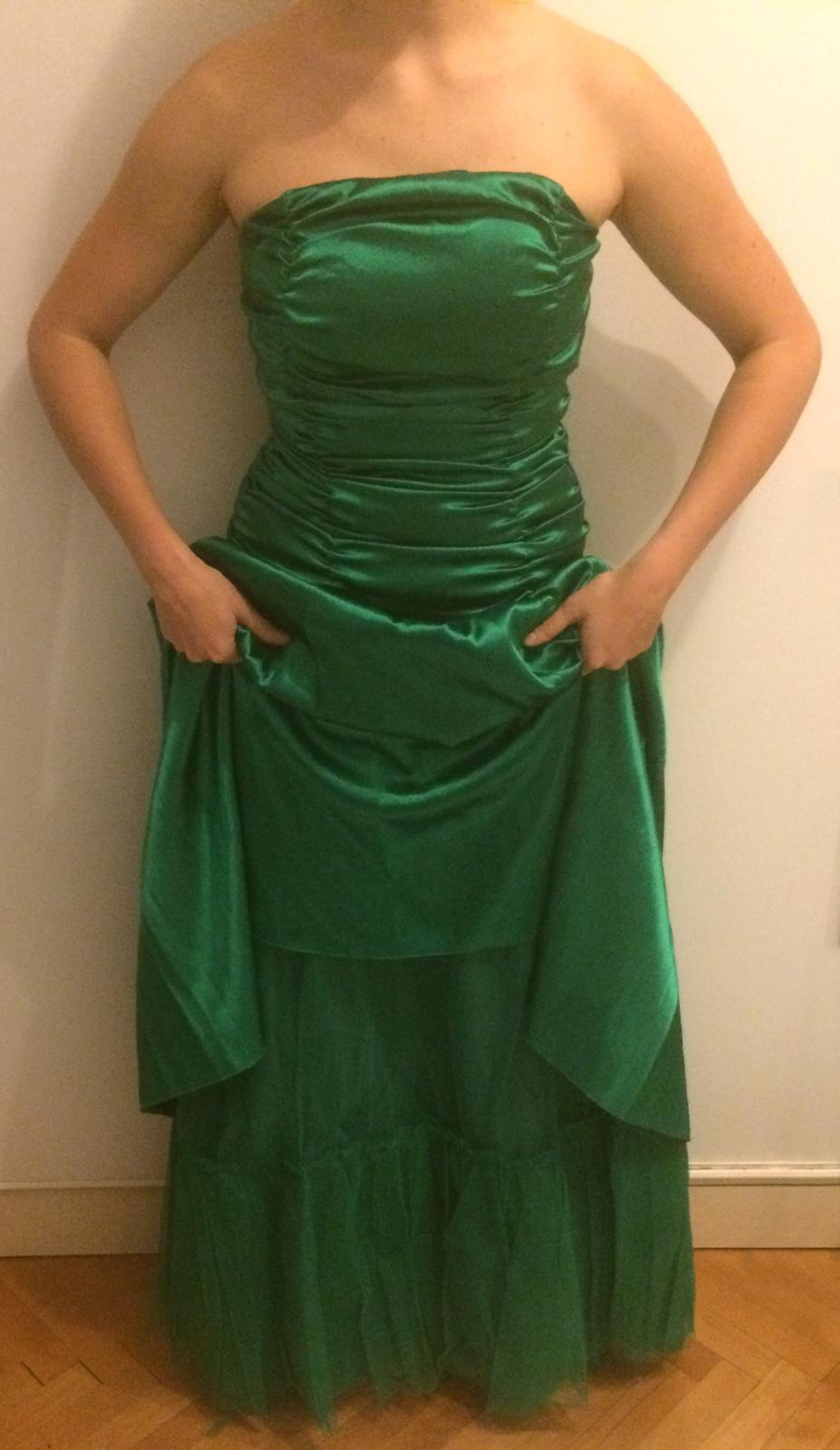 Zelené spoločenské šaty zaira b9c70d2c063