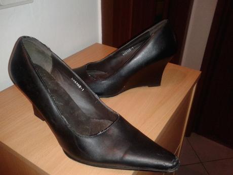 Topánky s platformou, 38