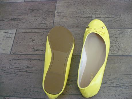 Žluté balerinky, 40