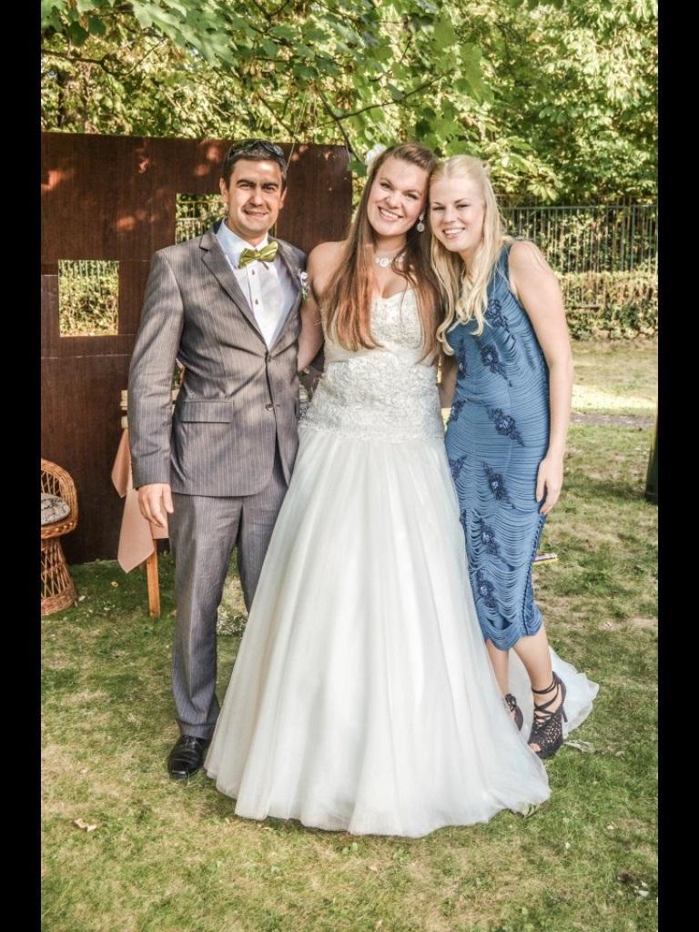 Svadobné šaty veľkosť 42-46 na výšku 170-180cm 6911169dcb1