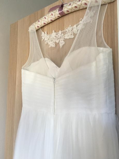Krátké svatební šaty Chloe BHLDN, 38