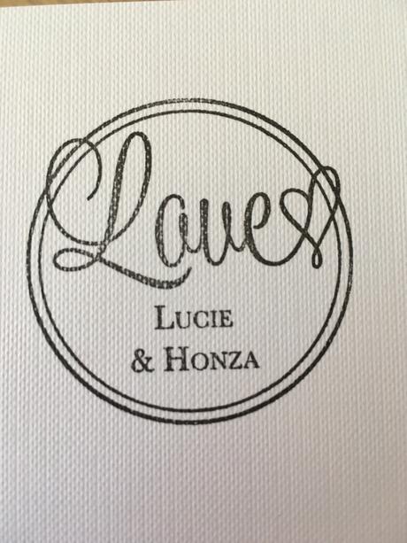 Svatební razítko Lucie & Honza,