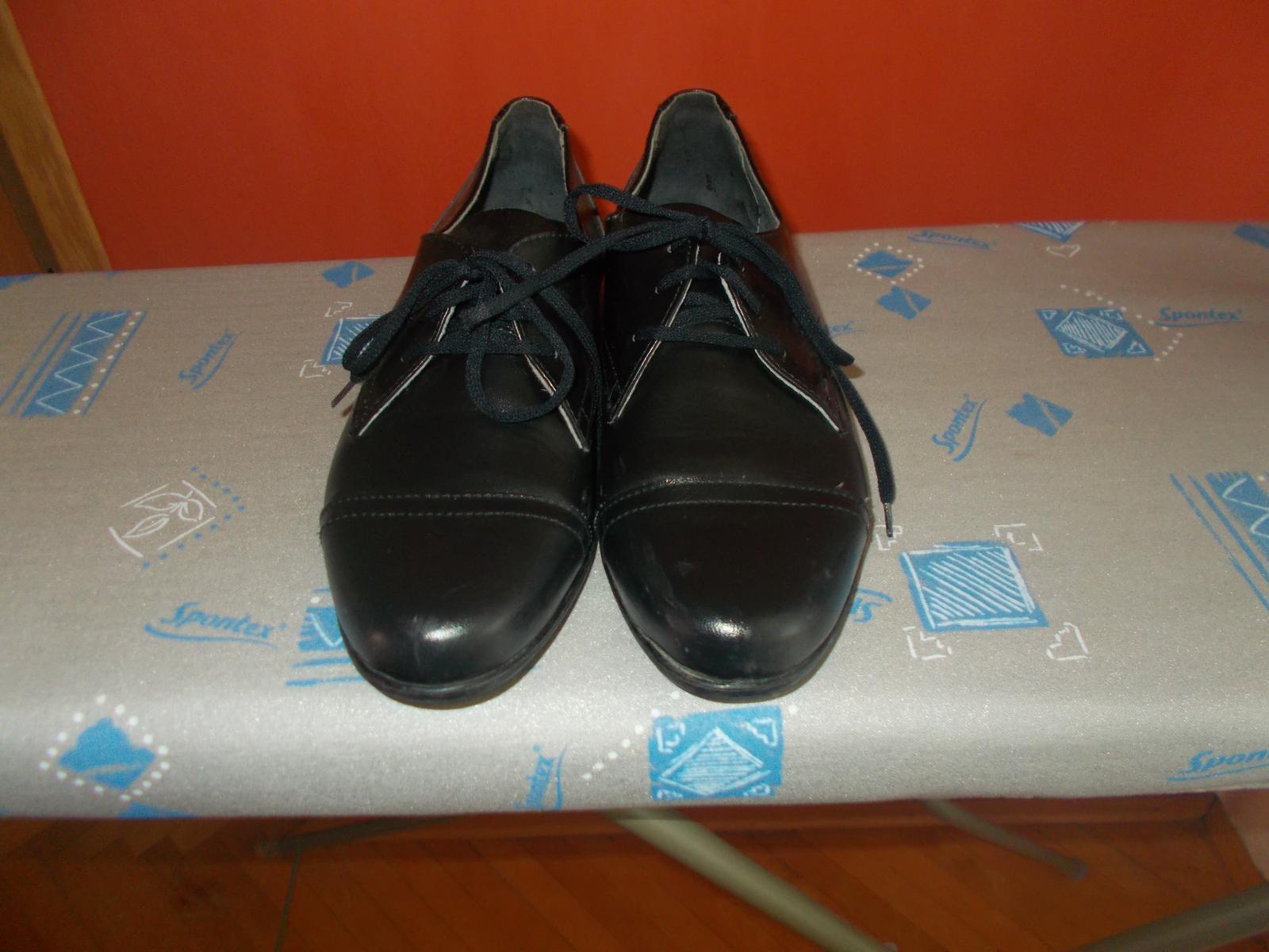 7a8019fc11 Pánske chlapčenské spoločenské topánky