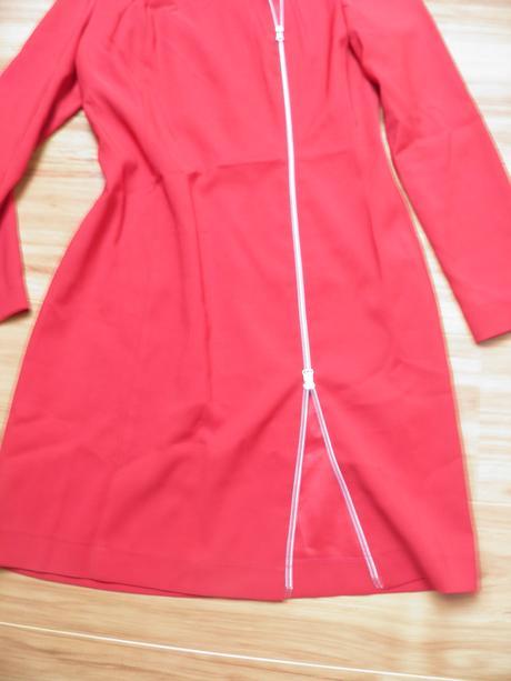 Elegantné šaty na zips 40-42, 40
