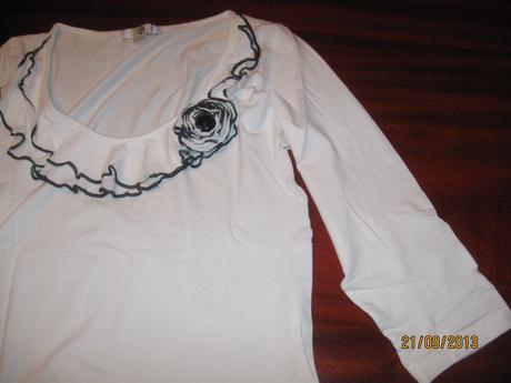 Elegantné tričko halens, 38