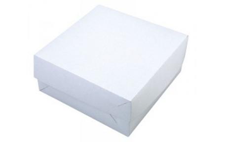Svatební krabička na výslužku 20x20x10 cm,