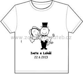 Svatební tričko,