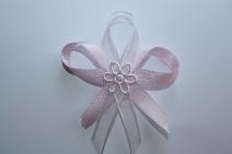 Svatební vývazek růžový,