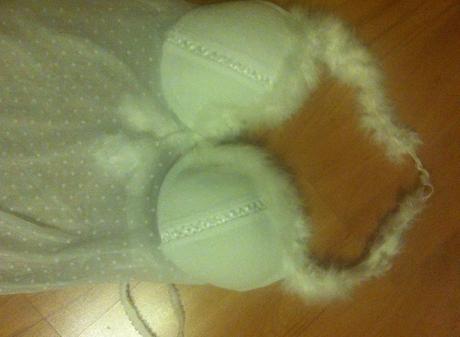 svadobne snehovobiele spodne pradlo- nepouzite, 38