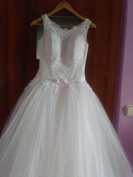 Princeznovské svadobné šaty 36-40, 36