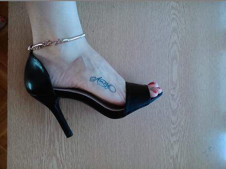 Sandály na podpatku, 41
