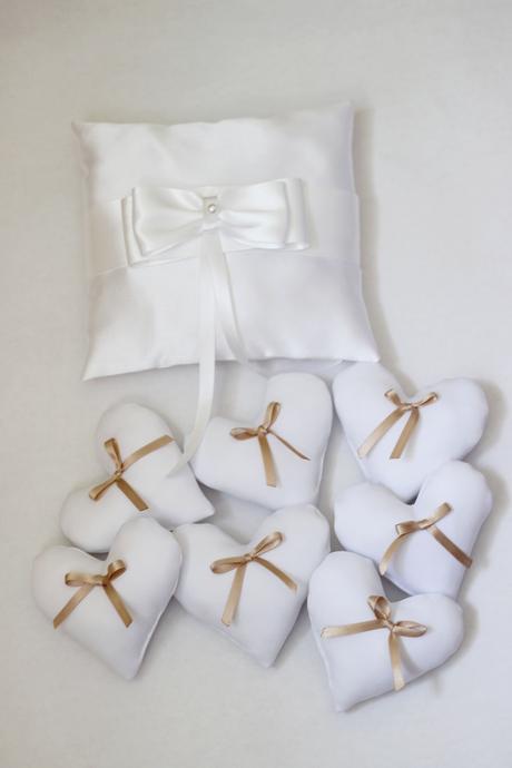 Darčeky pre svadobných hostí -srdiečka,