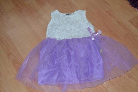 Šaty pro družičku - cca 3 roky, 98