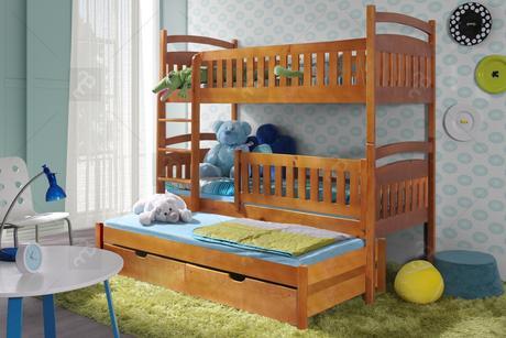 Detská poschodová posteľ,