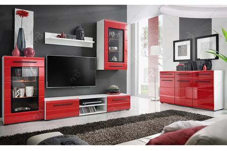 Moderný komplet nábytku do obývačky Phantom,