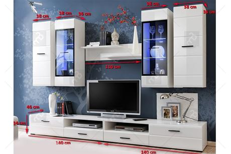Obývačka Pure s LED osvetlením,