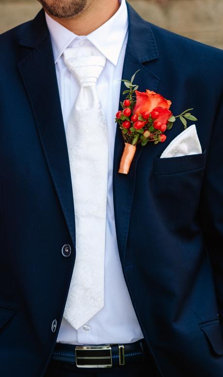 Skládaná kravata, regata,