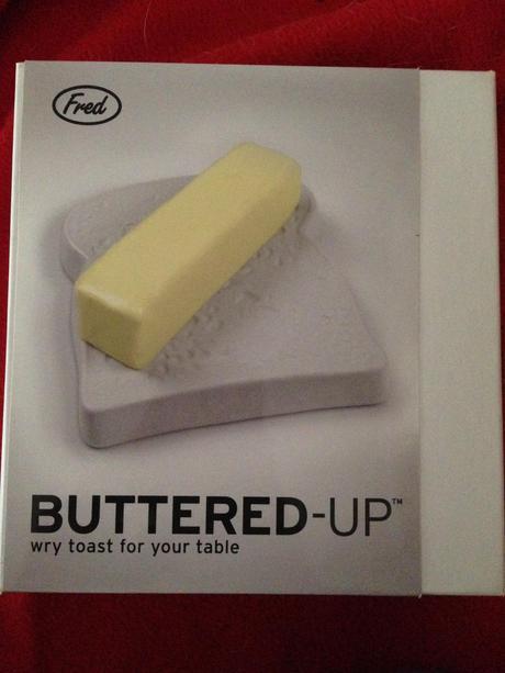 keramický toast - podnos na maslo,