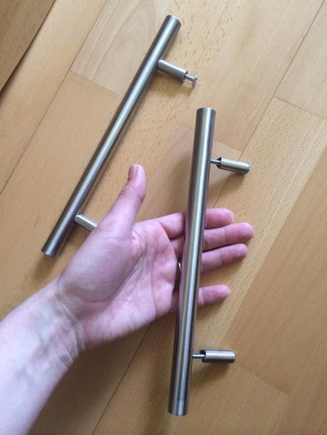 10 ks uchytka Ikea Lansa, roztec 160, dlzka 243 mm,