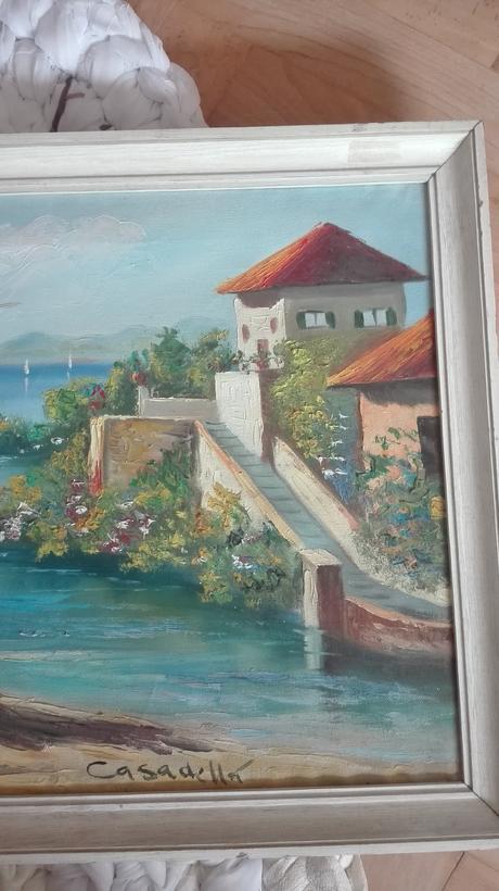 Malovany obraz,
