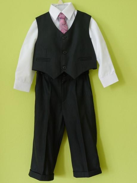 Oblek bandi vel. 86 s bílou košilí a kravatou 5e1aa113a5