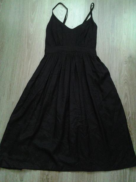 čierne šaty only, S