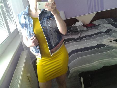 dámska šaty živej farby, 36