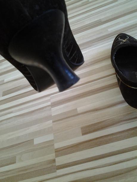 dámske topánky zo vzorom, 38