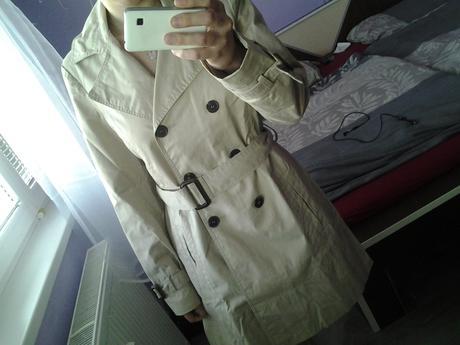 elegantný kabátik ZARA, L