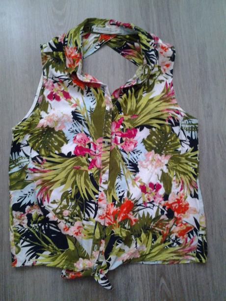 pestrofarebná košeľa, S