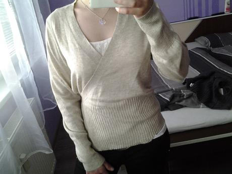 sveter na zaväzovanie značky Mexx-nenosený , L