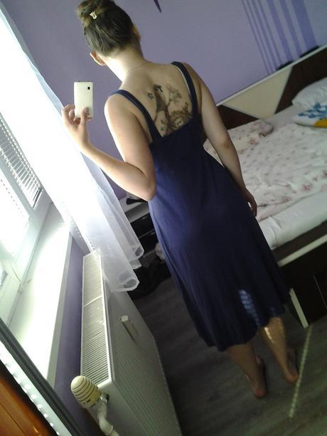 vyzdobené dlhé šaty, M