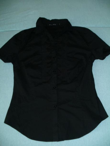 Čierna košeľa - blúzka, M
