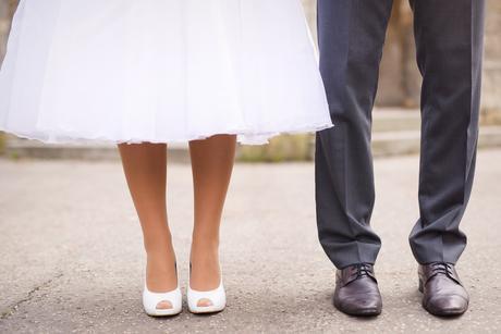 Retro svadobne saty-znizena cena, 36