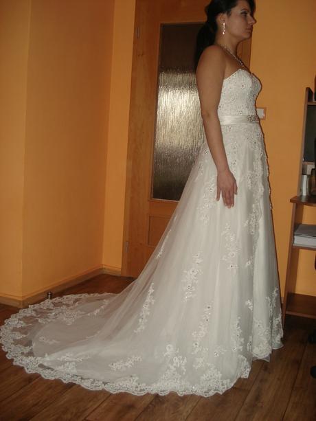 Svatební šaty 34-38, 38