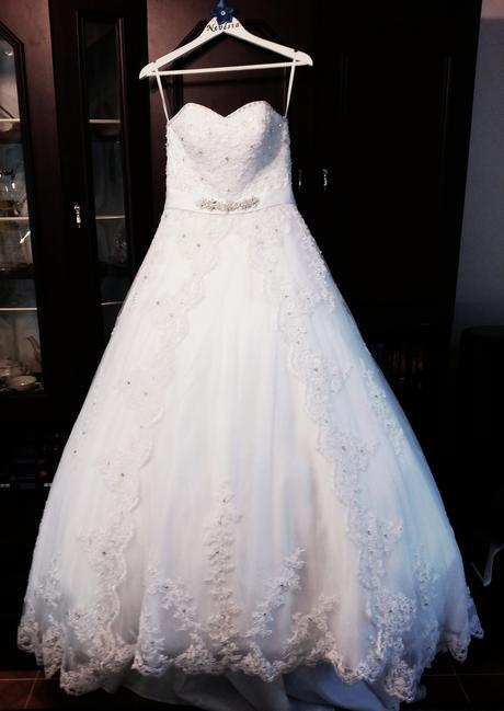 Svatební šaty vel.36-40, 38