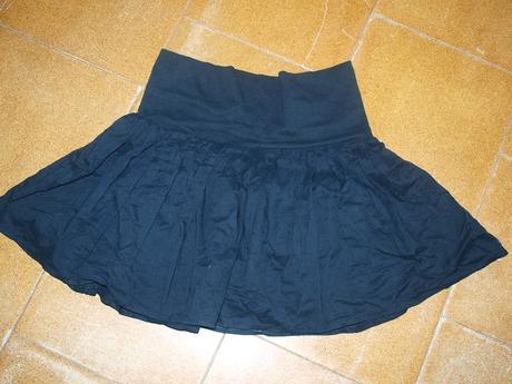 Čierna sukňa, M