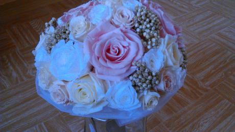 Kytica zo stabilizovaných kvetov,