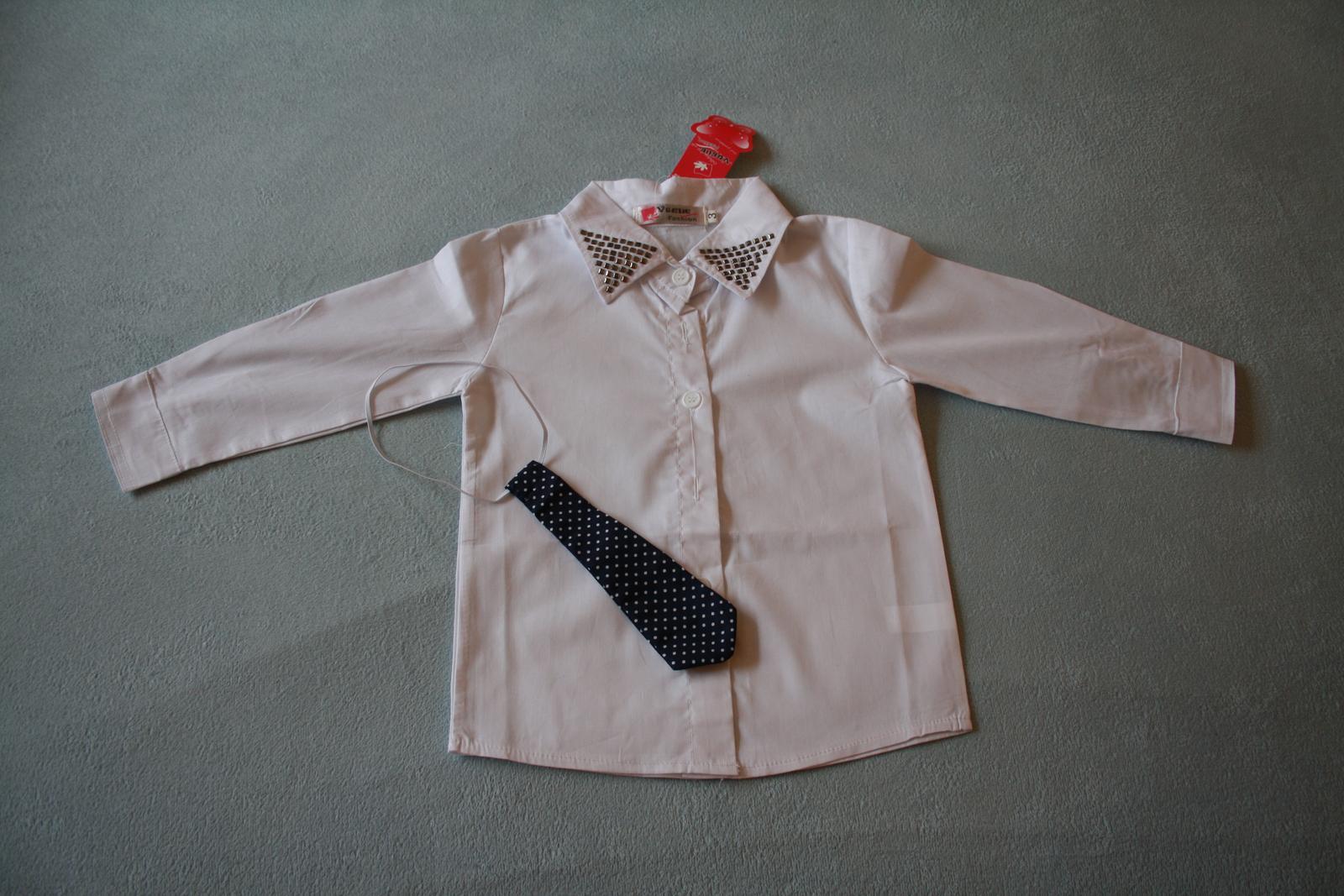 Chlapecká košile s kravatou. ca14d7872f