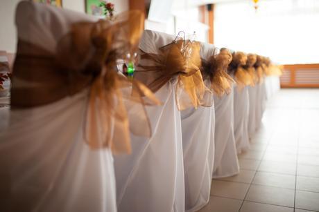 Jesenná svadobná výzdoba,
