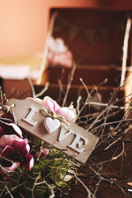 Cedulka LOVE,