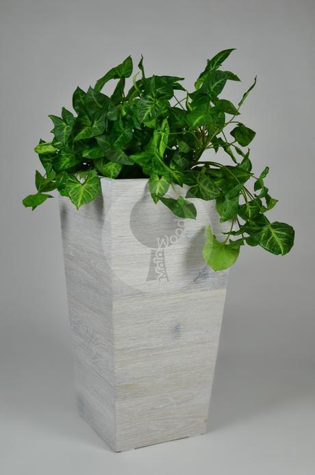 Drevený kvetináč - LUX,