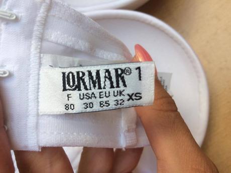 vyztužená podprsenka do svatebních šatů Lormar, S