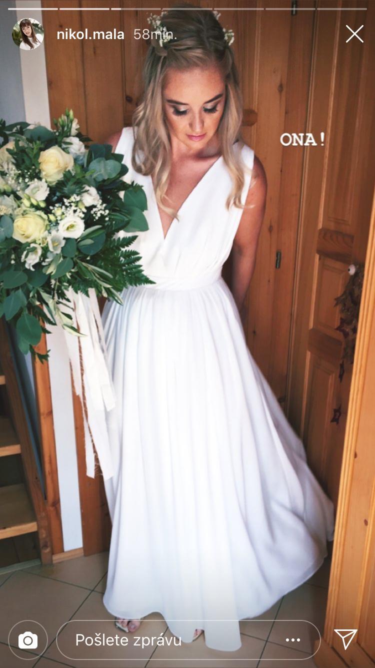 e6b83b470a5 Boho svatební šaty